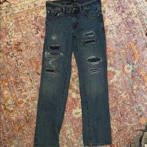 Gap Boys Distressed Jeans